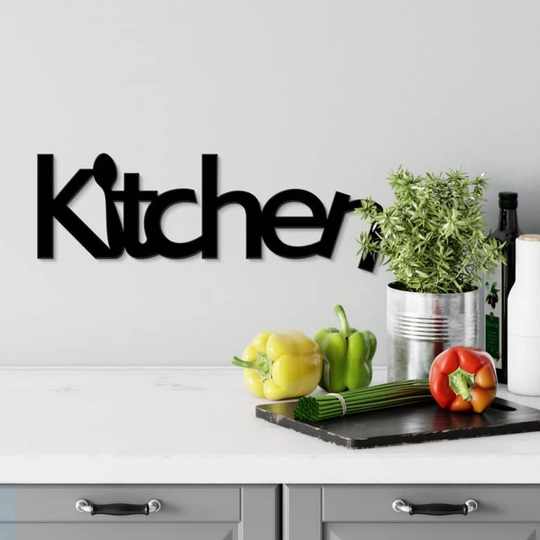 Kitchen Acrylic letters
