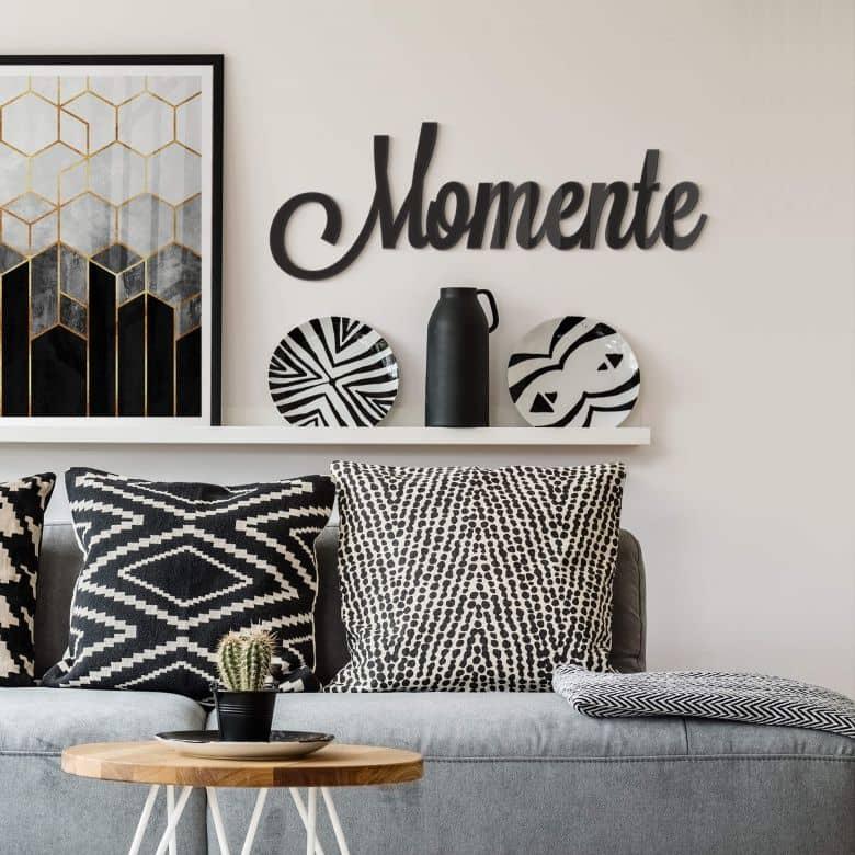 Acrylbuchstaben Momente