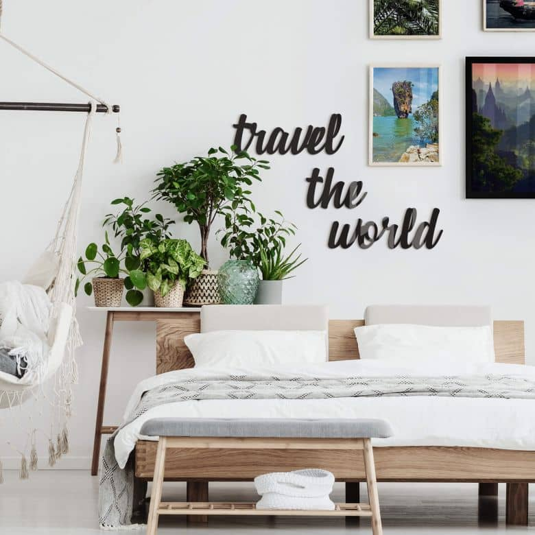 Decoratieletters Travel the World