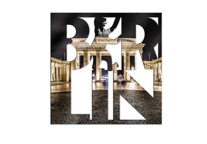 Acrylbuchstaben Berlin 03