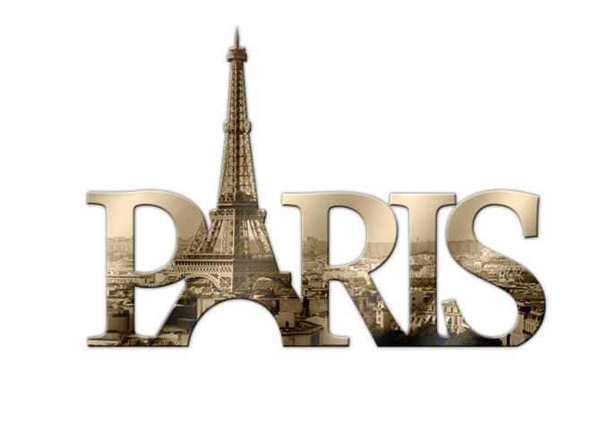 Paris 02 Acrylic Letters Wall Art Com