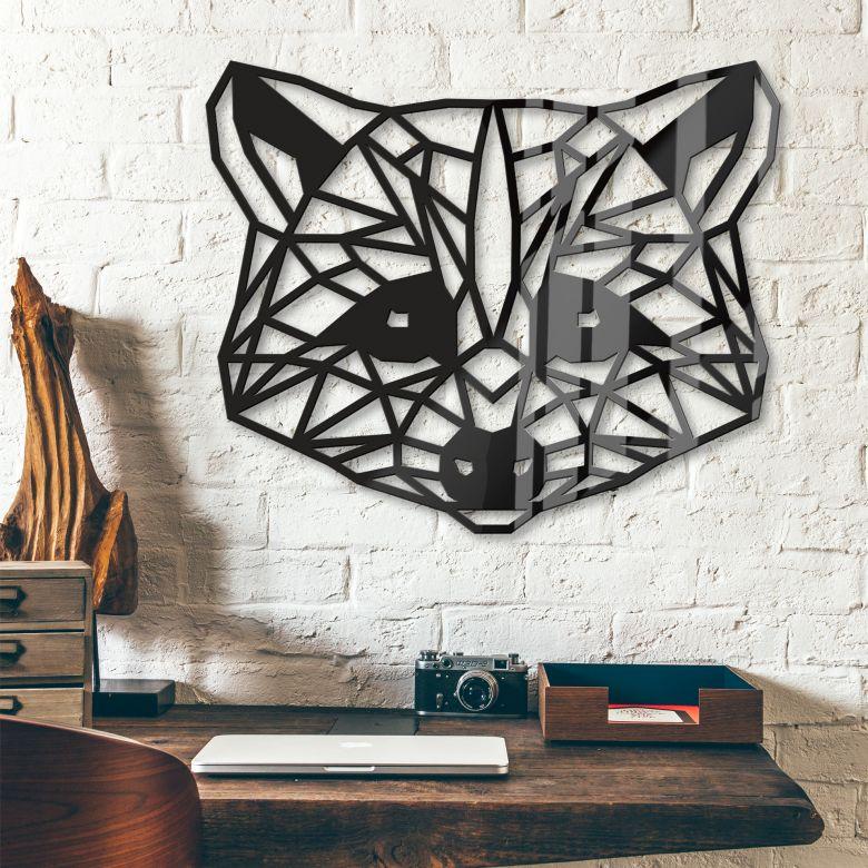 Origami Wasbeer van acrylglas