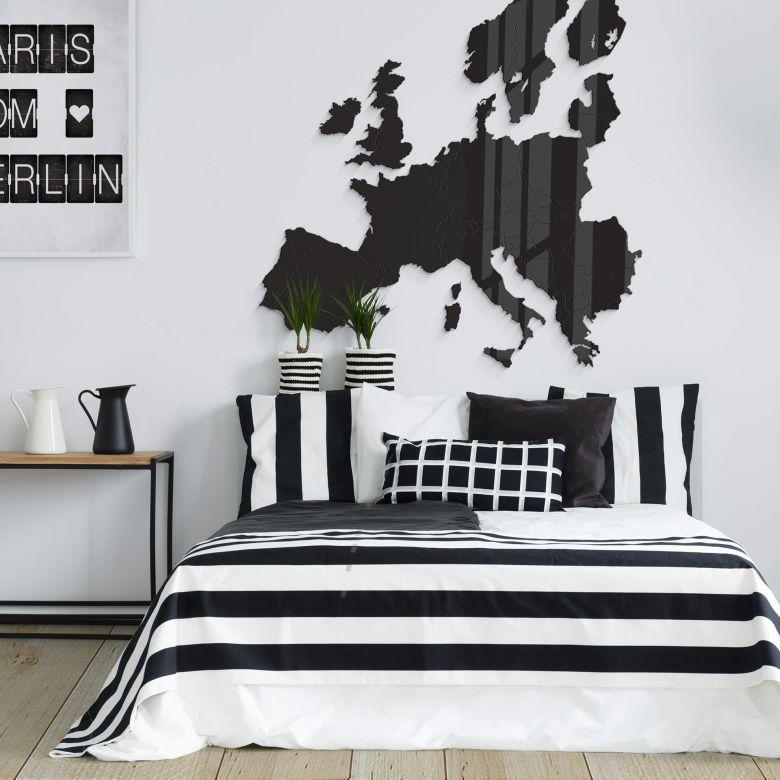Plexiglas Kaart van Europa