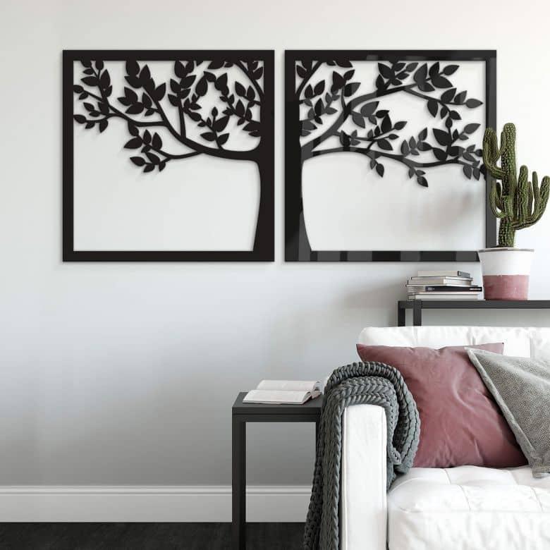 Acryldeko Prachtvoller Baum