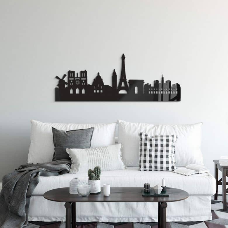 Decori in acrilico – Skyline Parigi