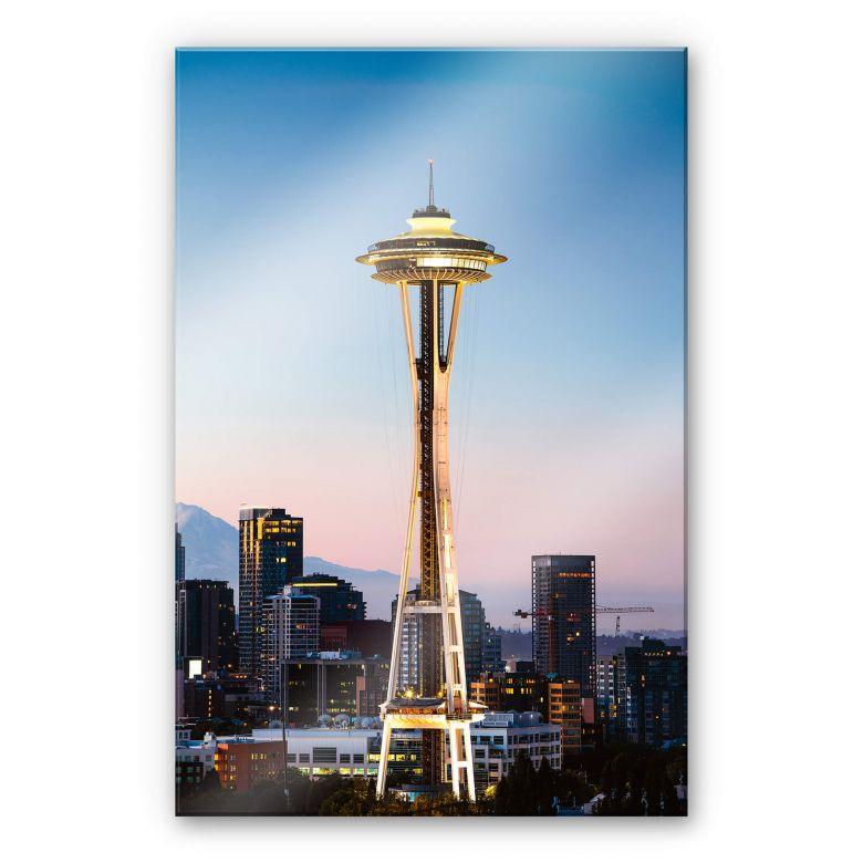Acrylglasbild Colombo - Space Needle in Seattle