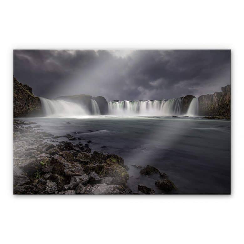 Acrylglasbild Cuadrado - Gods of Water