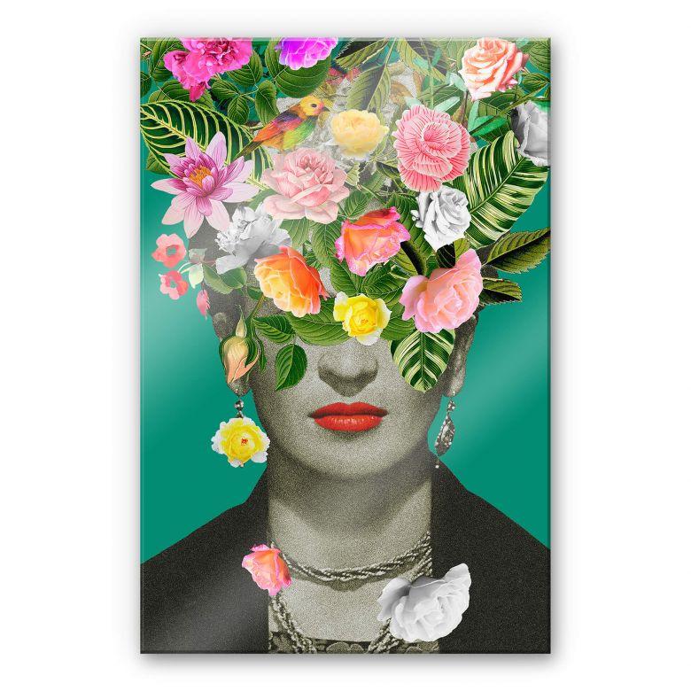 Tableau en verre acrylique Feldmann - Frida Floral