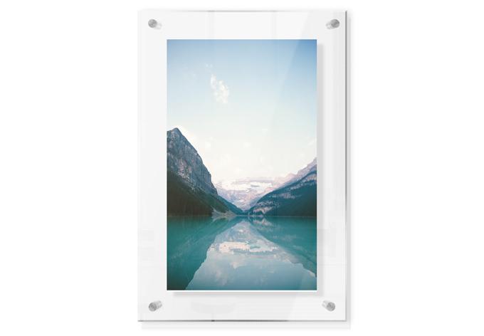 Acrylglasbild im Galeriestil - Idylle