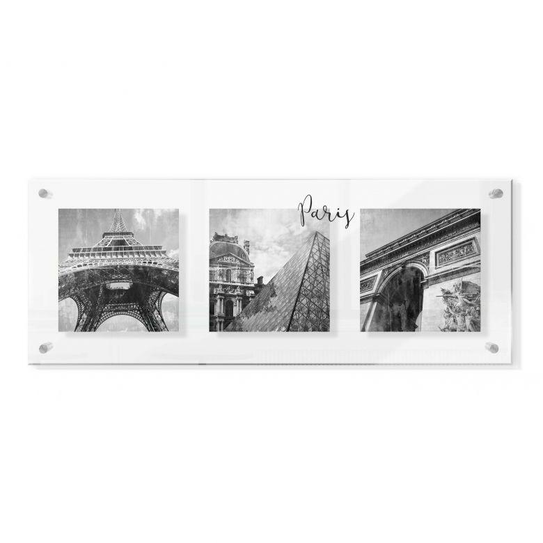 Acrylglasbild im Galeriestil - Impressions of Paris