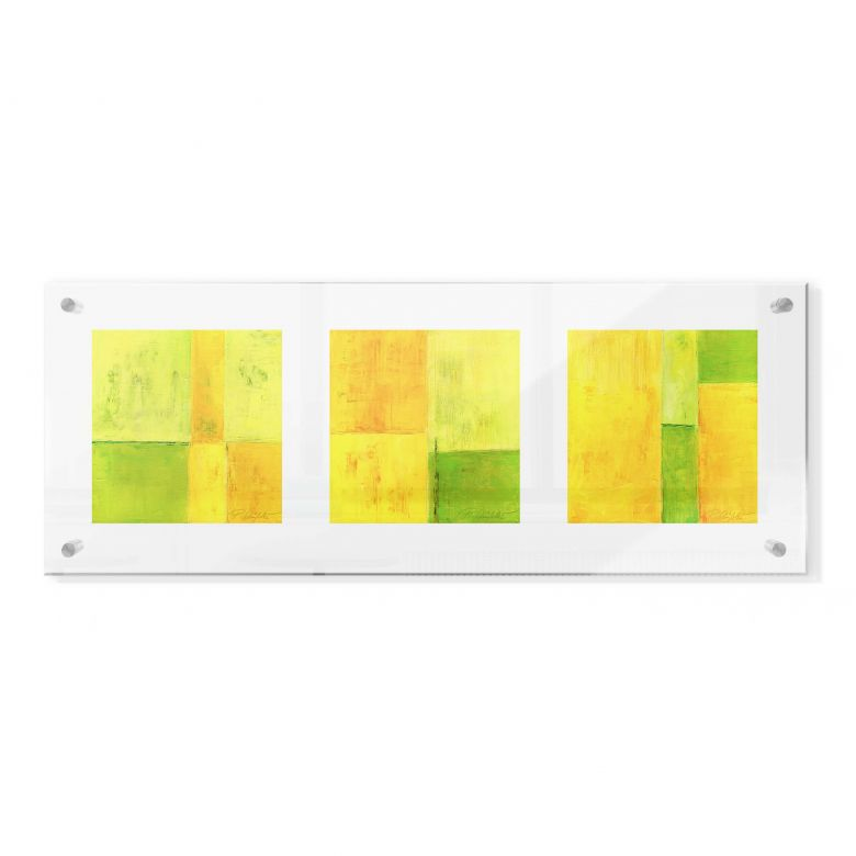 Acrylglasbild im Galeriestil - Schüßler - Spring Composition
