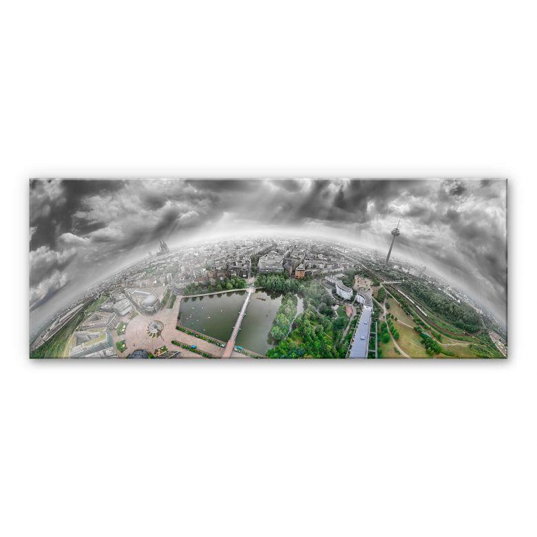 Acrylglas Heine - Keulen Panorama