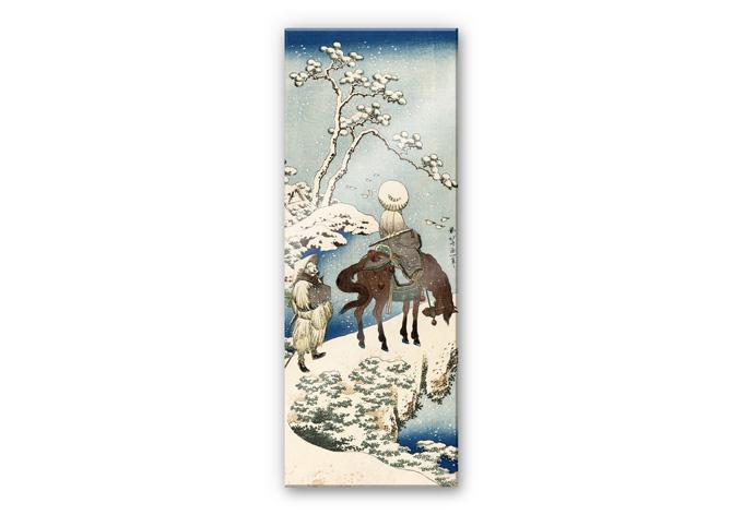 Acrylglasbild Hokusai - Der chinesische Dichter Su