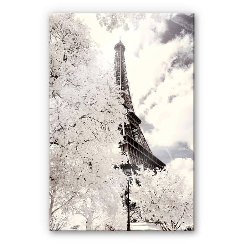 Acrylglasbild Hugonnard - White Paris