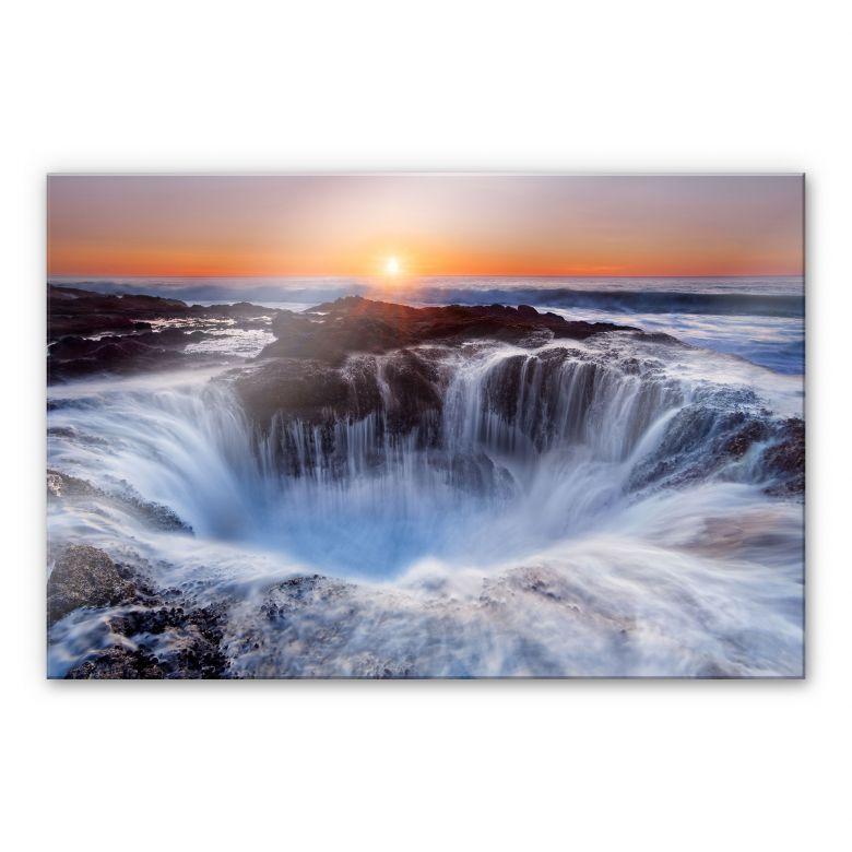 Acrylglasbild Morgan - Oregon Thor's Well