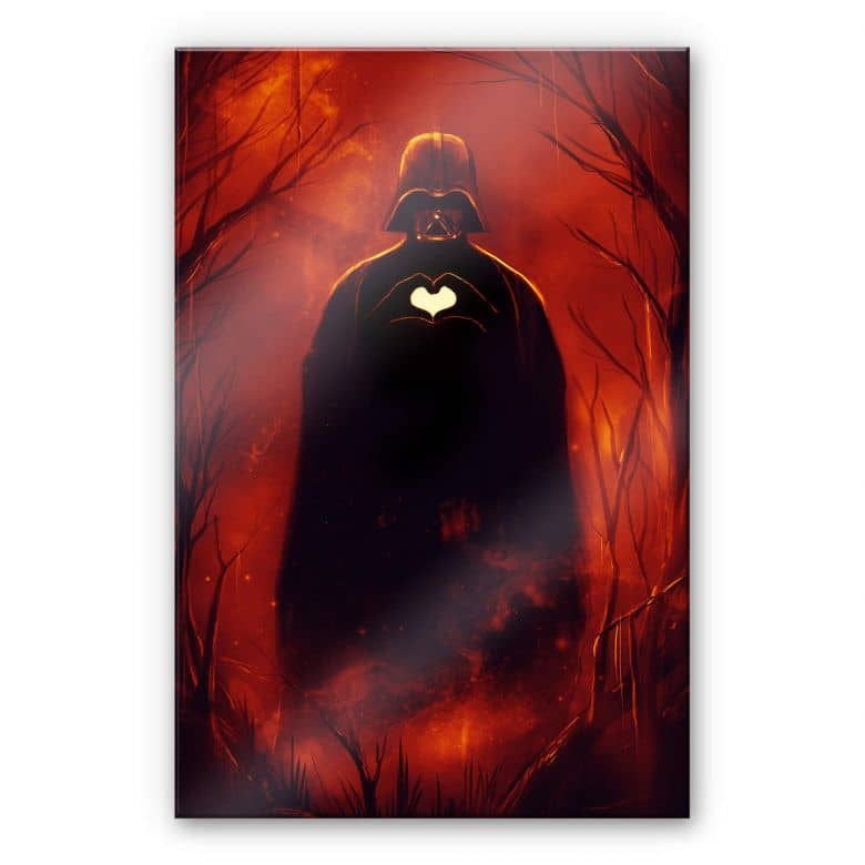 Acrylglasbild Nicebleed - Heart Vader