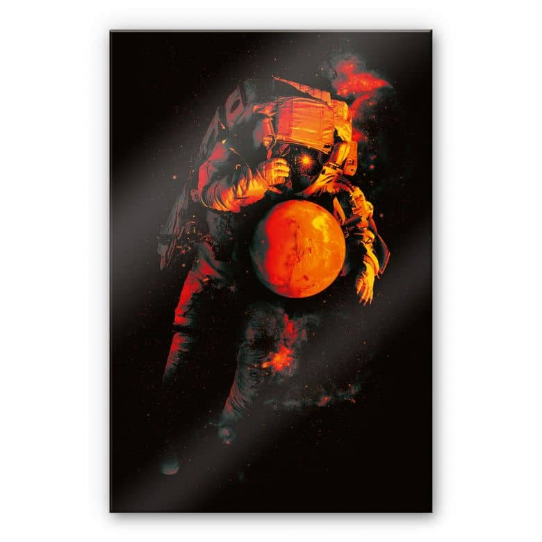 Acrylglasbild Nicebleed - It's a small world after Mars