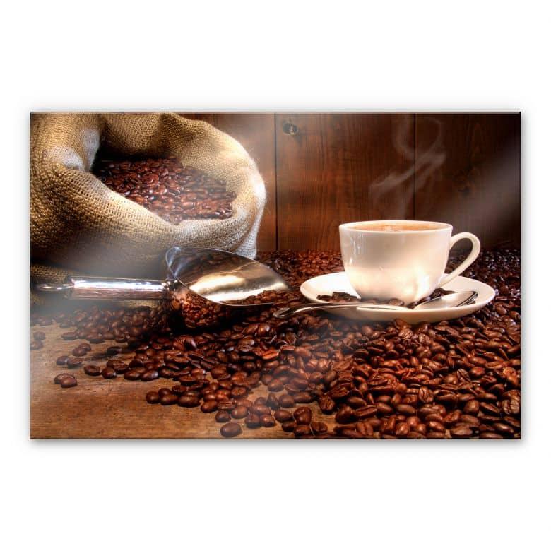 XXL Wandbild Kaffeegenuss