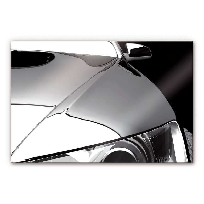 Acrylglasbild Metallic Car