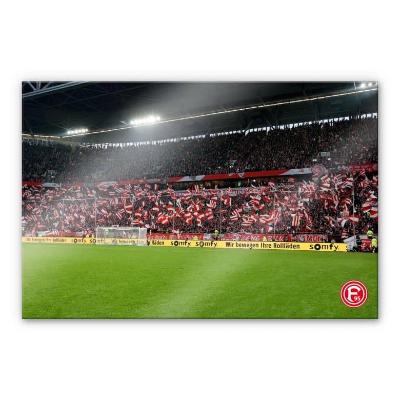 XXL Wandbild Fortuna Fans