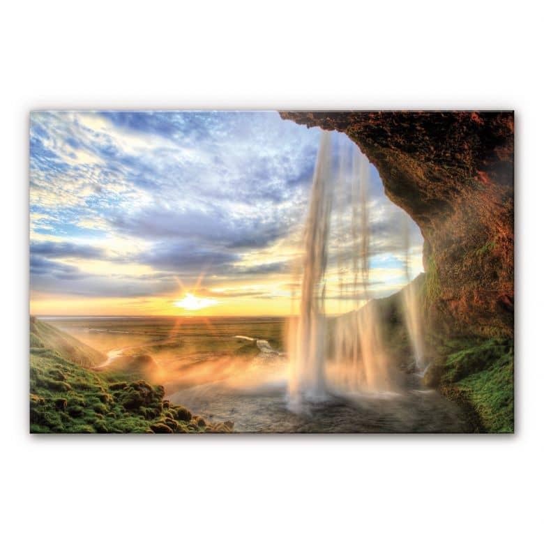 XXL Wanddecoratie Acrylglas Watervallen
