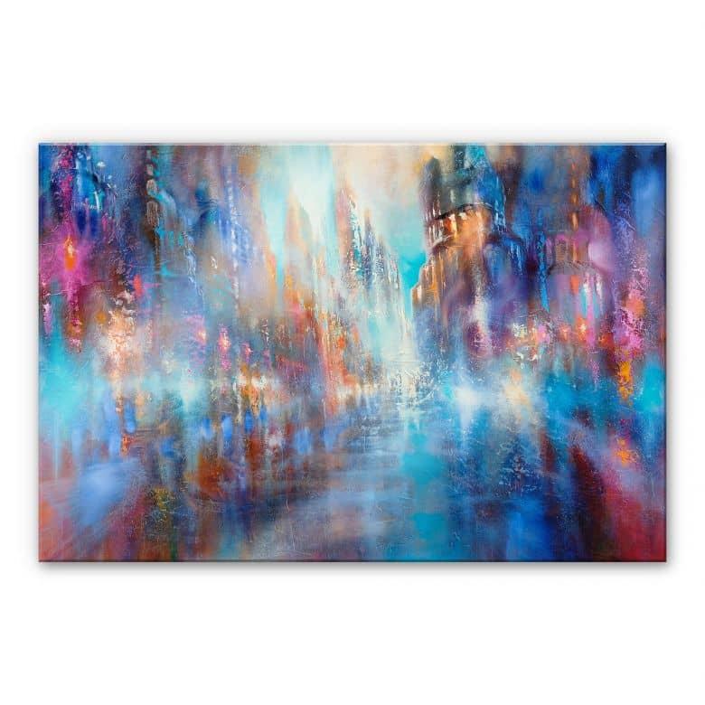 Acrylglasbild Schmucker - In das Licht