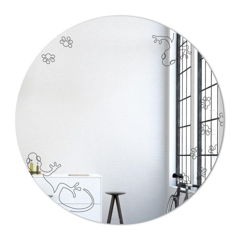 Wandspiegel Gecko Spiegel