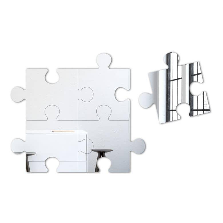 Set di specchi puzzle - Specchi riflessi testo ...