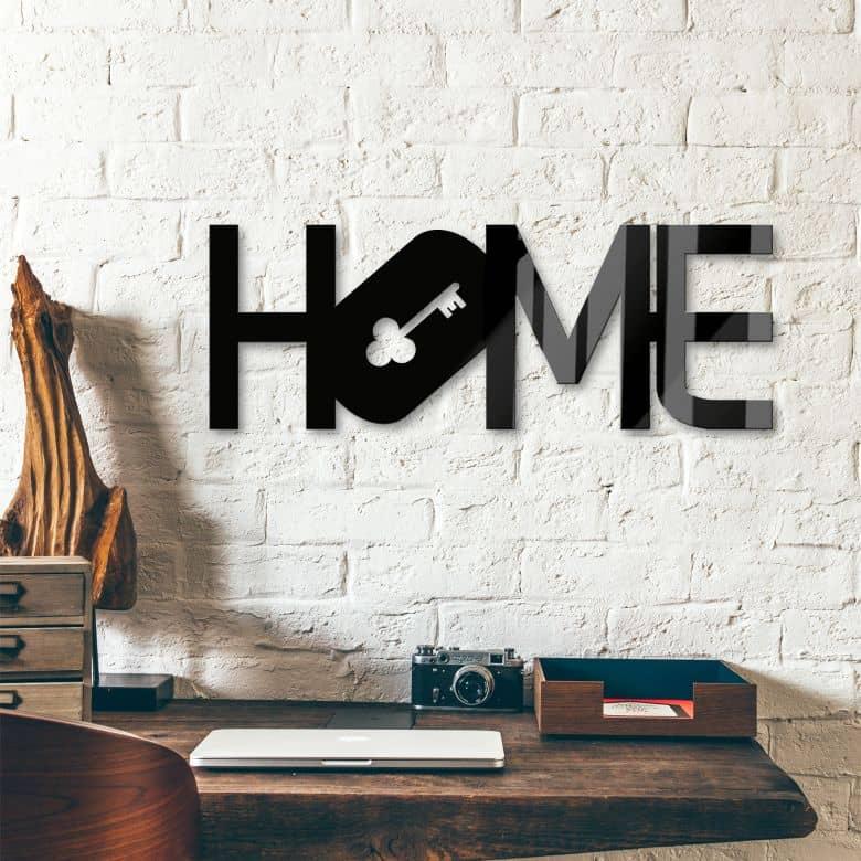 Acrylbuchstaben Home - Key