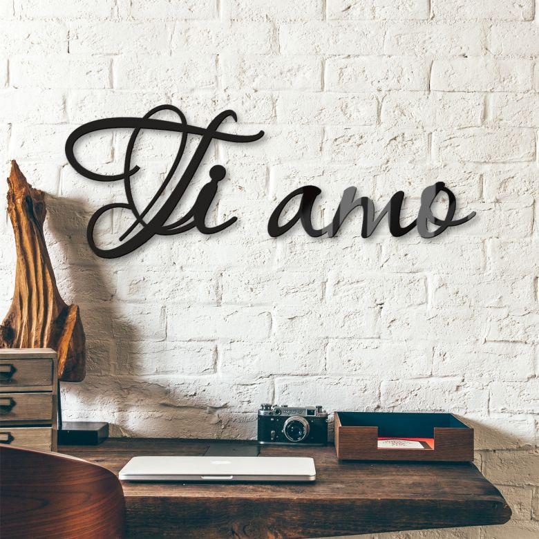 Lettere in acrilico –  Ti amo!