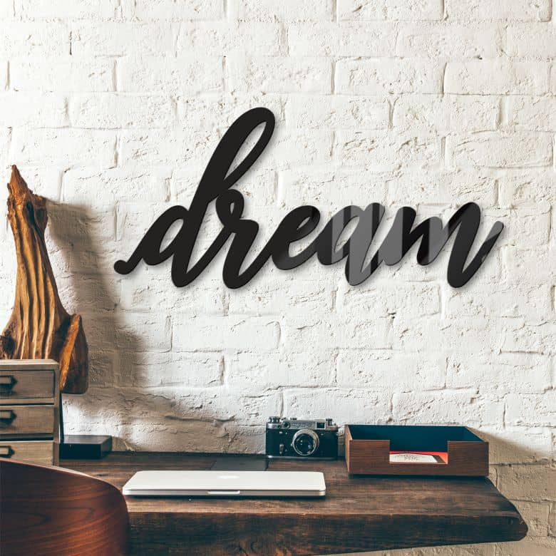 Acrylic Letters Dream 03