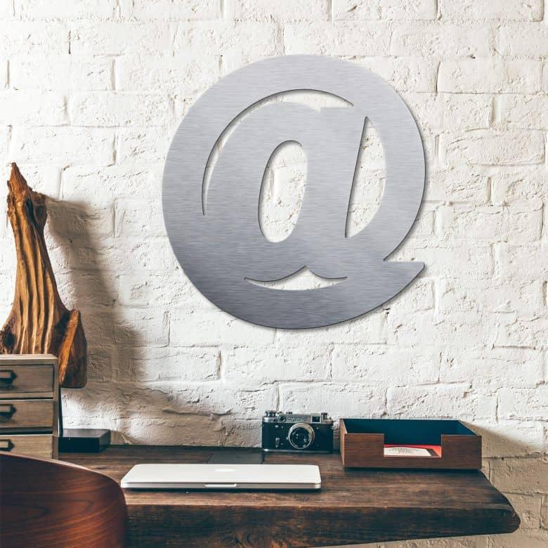 Lettere in ALu-dibond - @