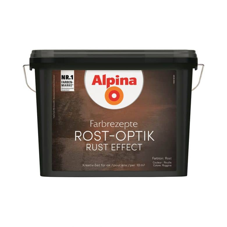 Alpina Farbrezepte ROST-OPTIK Set - 1,2 Liter