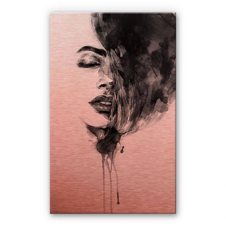 Alu-Dibond-Kupfereffekt - Sleeping Beauty