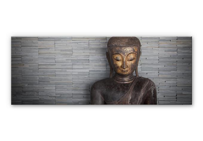 Thailand Buddha Aluminium Print - Panorama 01