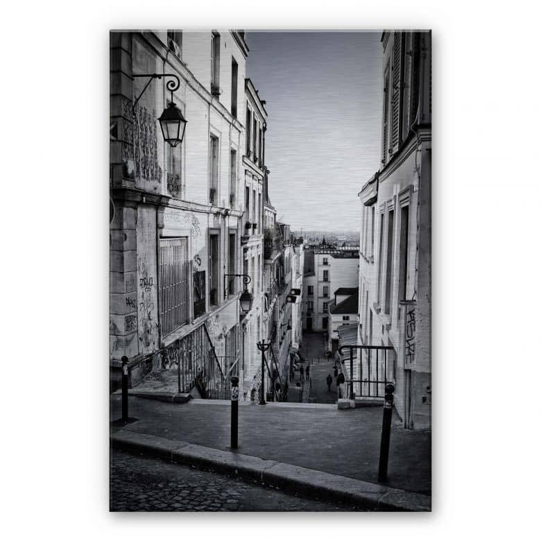 Stampa su Alu-Dibond - Montmartre