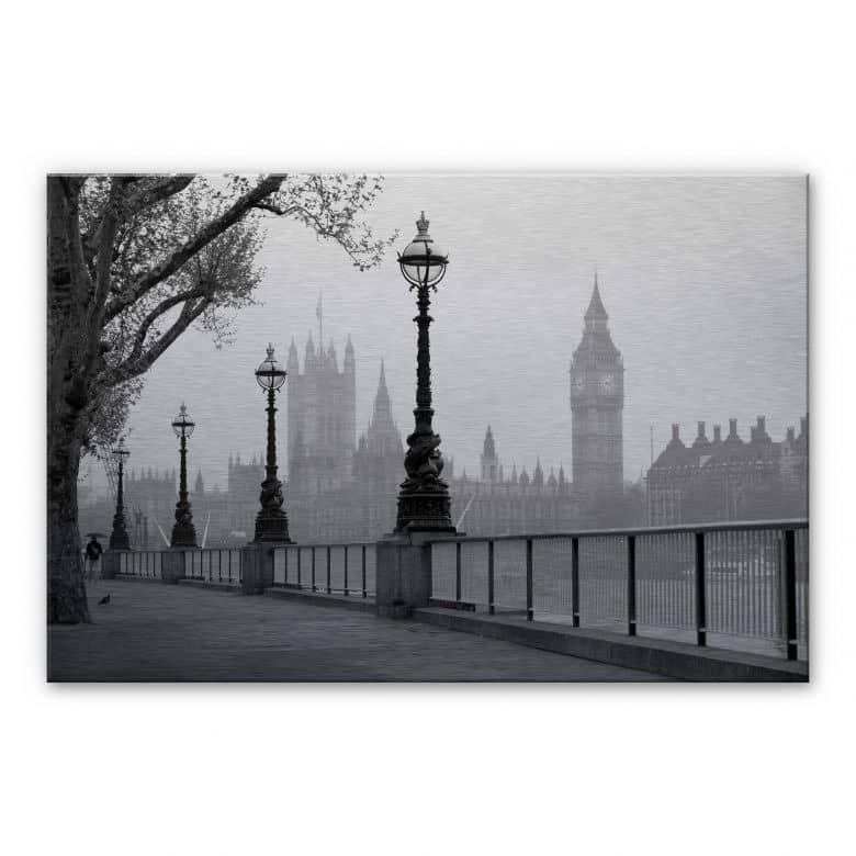 Palace of Westminster Aluminium print
