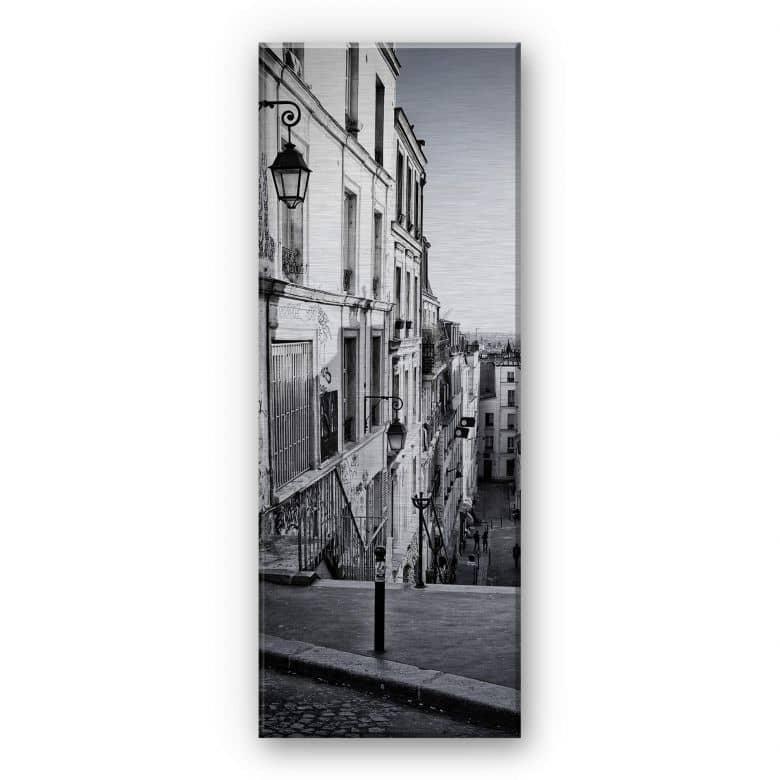 Montmartre - Panorama Aluminium print
