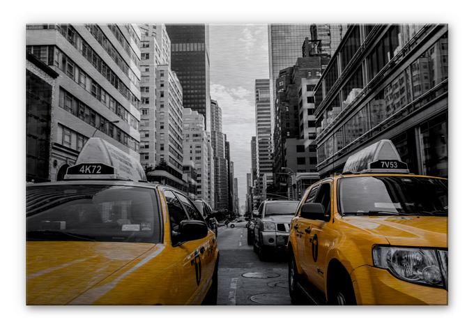 Alu-Dibond Bild Streets in New York City