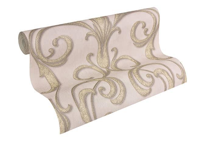 Architects Paper Tapete Nobile braun, metallic, lila