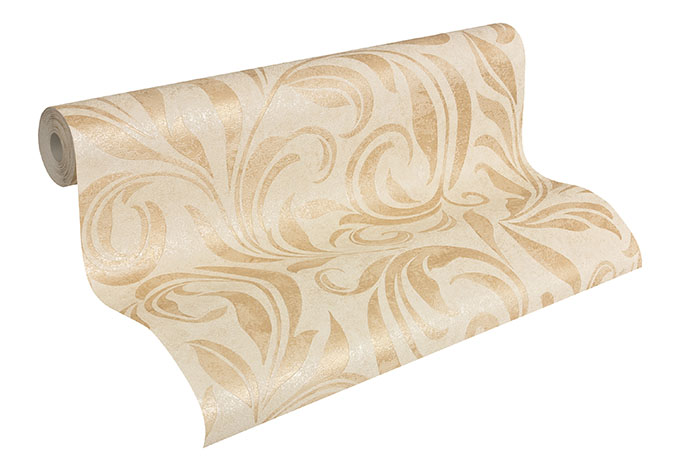 Architects Paper Vliestapete Nobile Blumentapete floral beige, creme, metallic