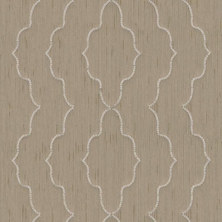 Architects Paper textiles Designpanel AP Wall Fashion creme, metallic