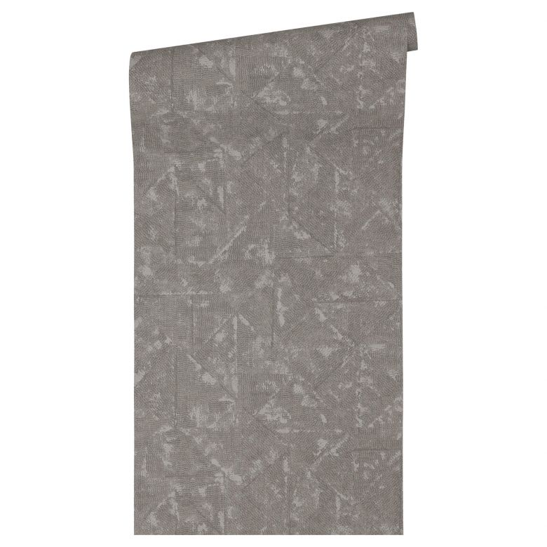Architects Paper Vliestapete Absolutely Chic Vintagetapete grau, metallic