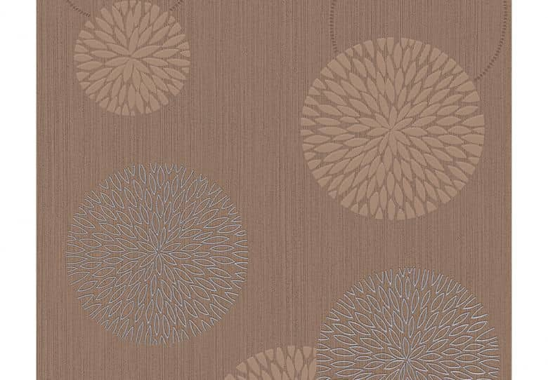 A.S. Création Wallpaper Best of Vlies 2016 Brown, Metallic