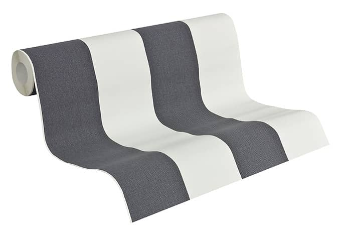 Mustertapete A.S. Création Vliestapete Elegance 2 Grau, Weiß