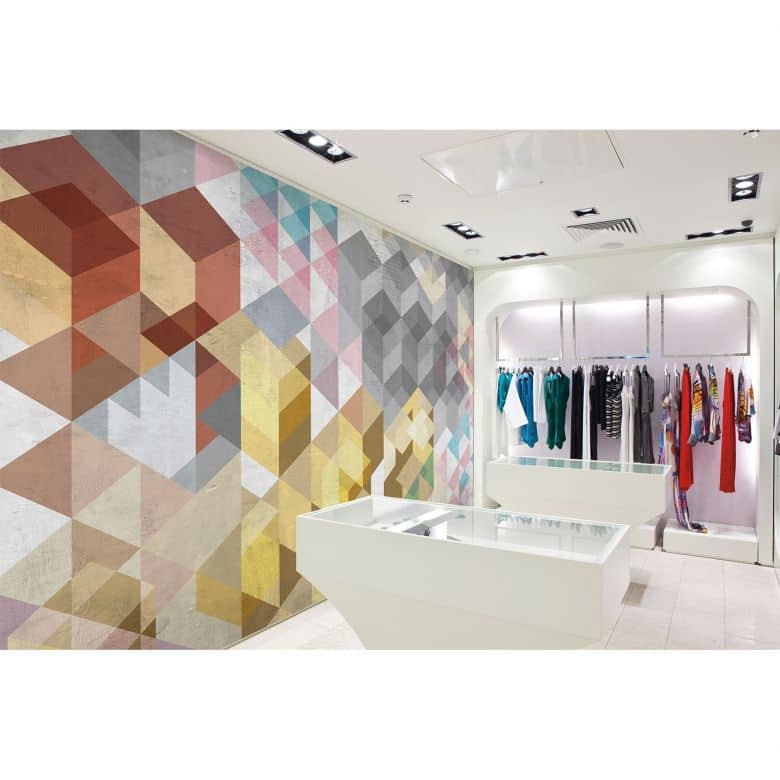 Architects Paper Fototapete Atelier 47 Vintage Diamond grafisch