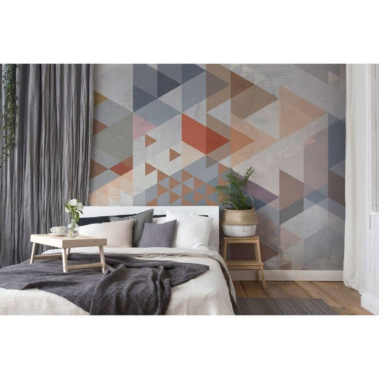 Architects Paper Fototapete Atelier 47 Vintage Triangle grafisch