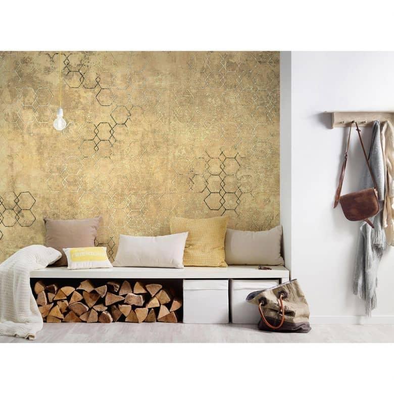 Architects Paper Fototapete Atelier 47 Hexagon Art grafisch