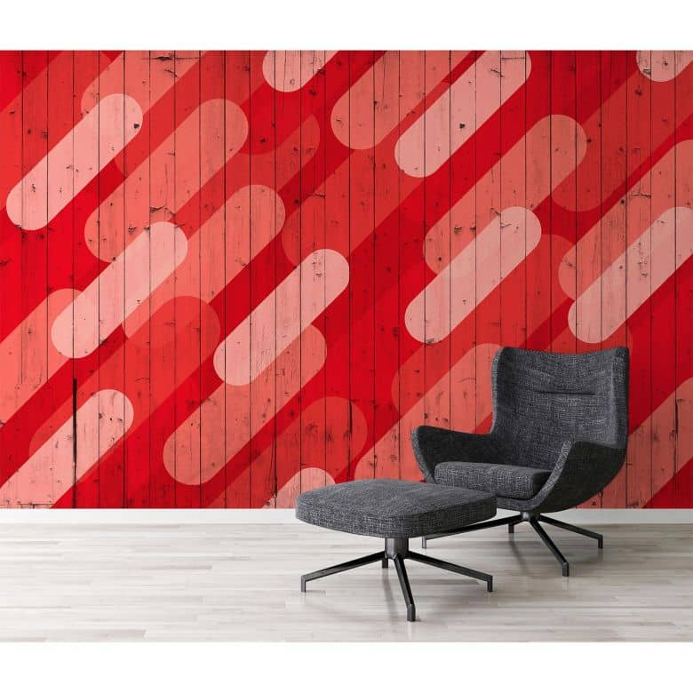 Architects Paper Fototapete Atelier 47 Pill Pattern grafisch