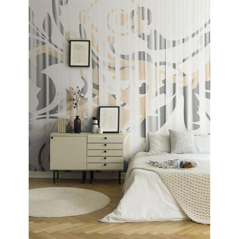 Architects Paper Fototapete Atelier 47 Curtain White barock